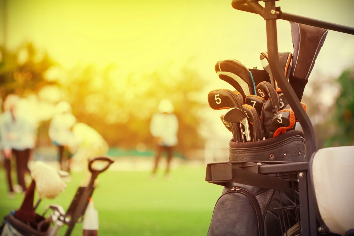 Do you use a power cart or push cart when playing a round of golf?