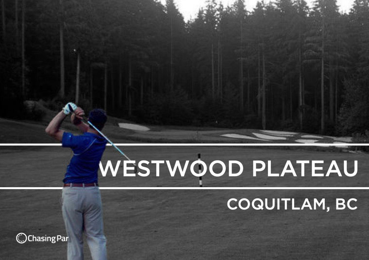 Westwood Plateau has an epic Par 3 carved out of a mountain
