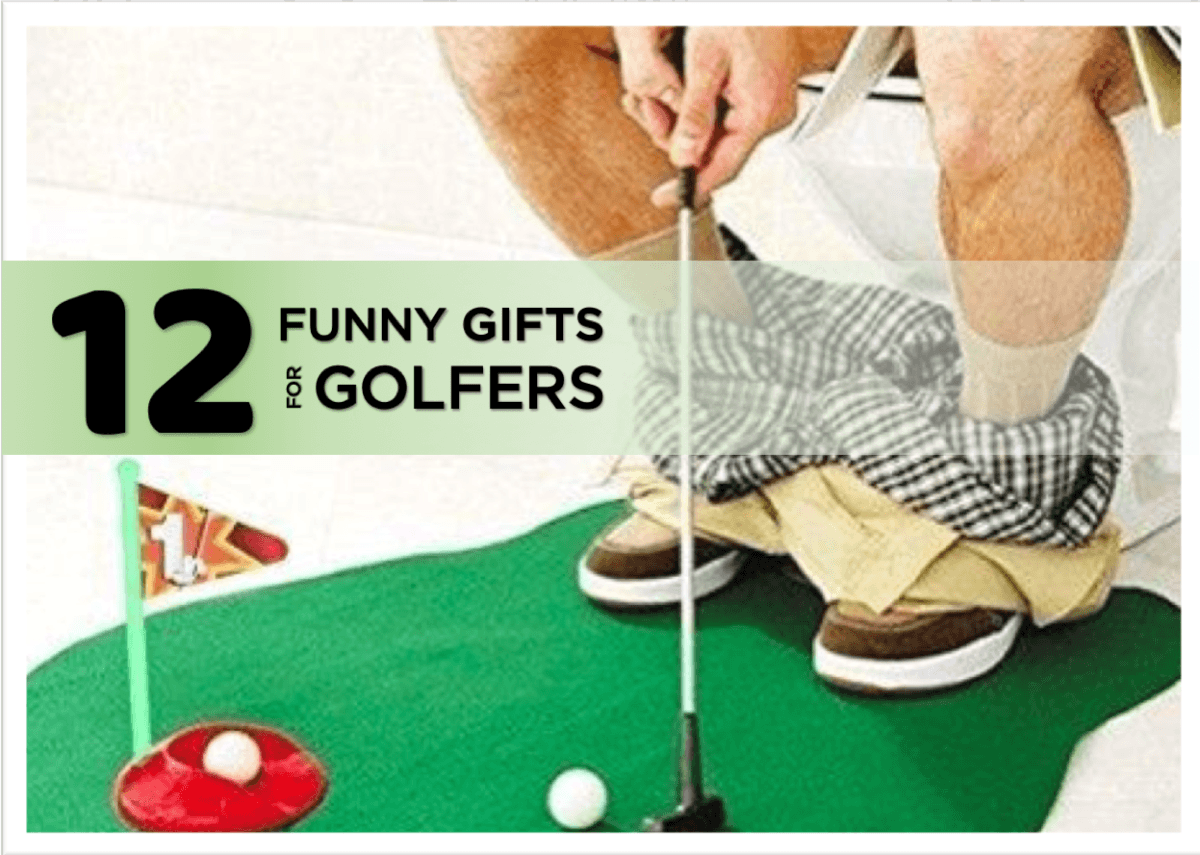12 funny gifts for golfers chasing par fathers day gifts
