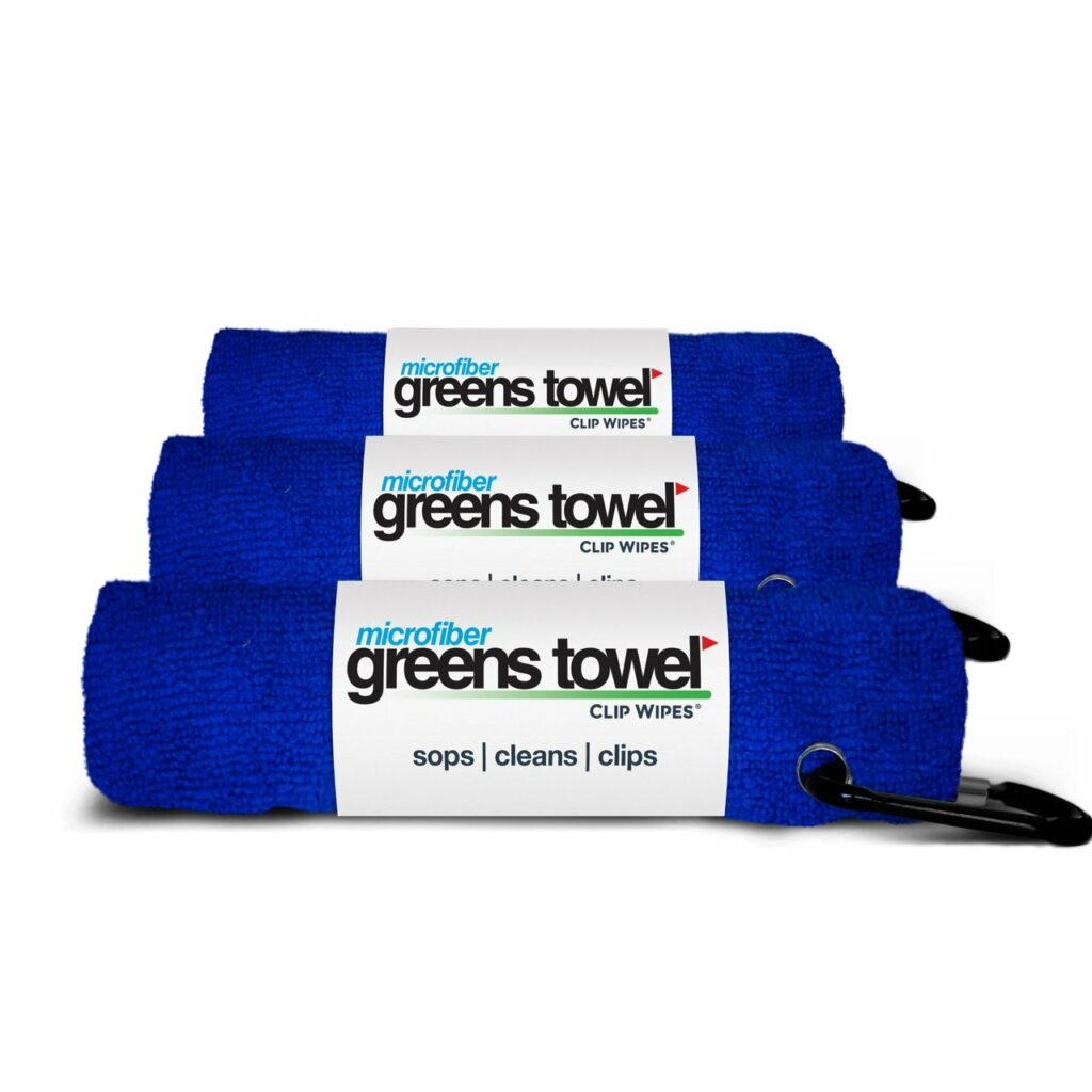 Microfiber Greens Towel 3 Pack