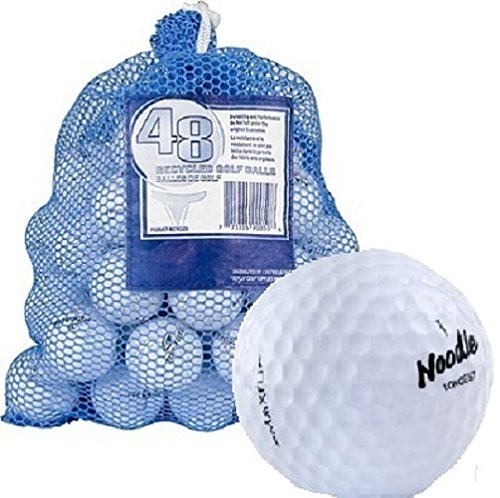 Maxfli 49 Recycled Golf Balls in Mesh Carry Bag White