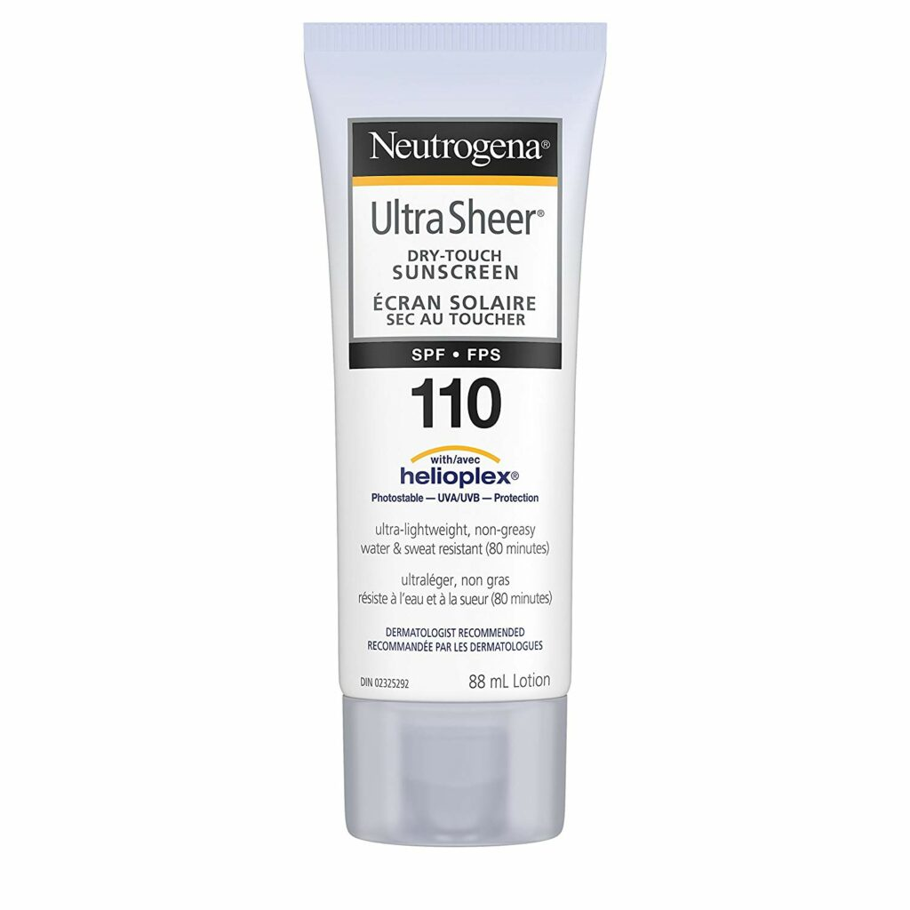Neutrogena Sunscreen Lotion SPF 110